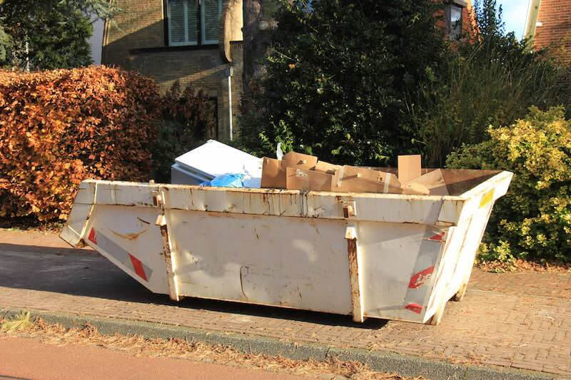 15 yard dumpster rental in Haskell
