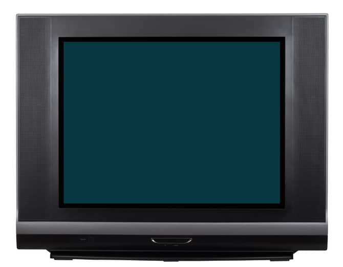 Television recycling in Wallington